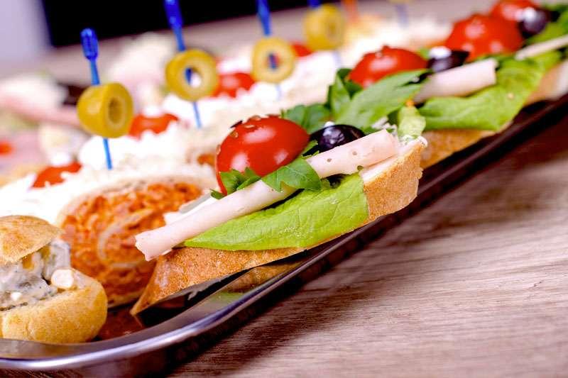 photo of a sandwich board
