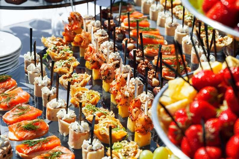 Photo of Wedding Finger Foods